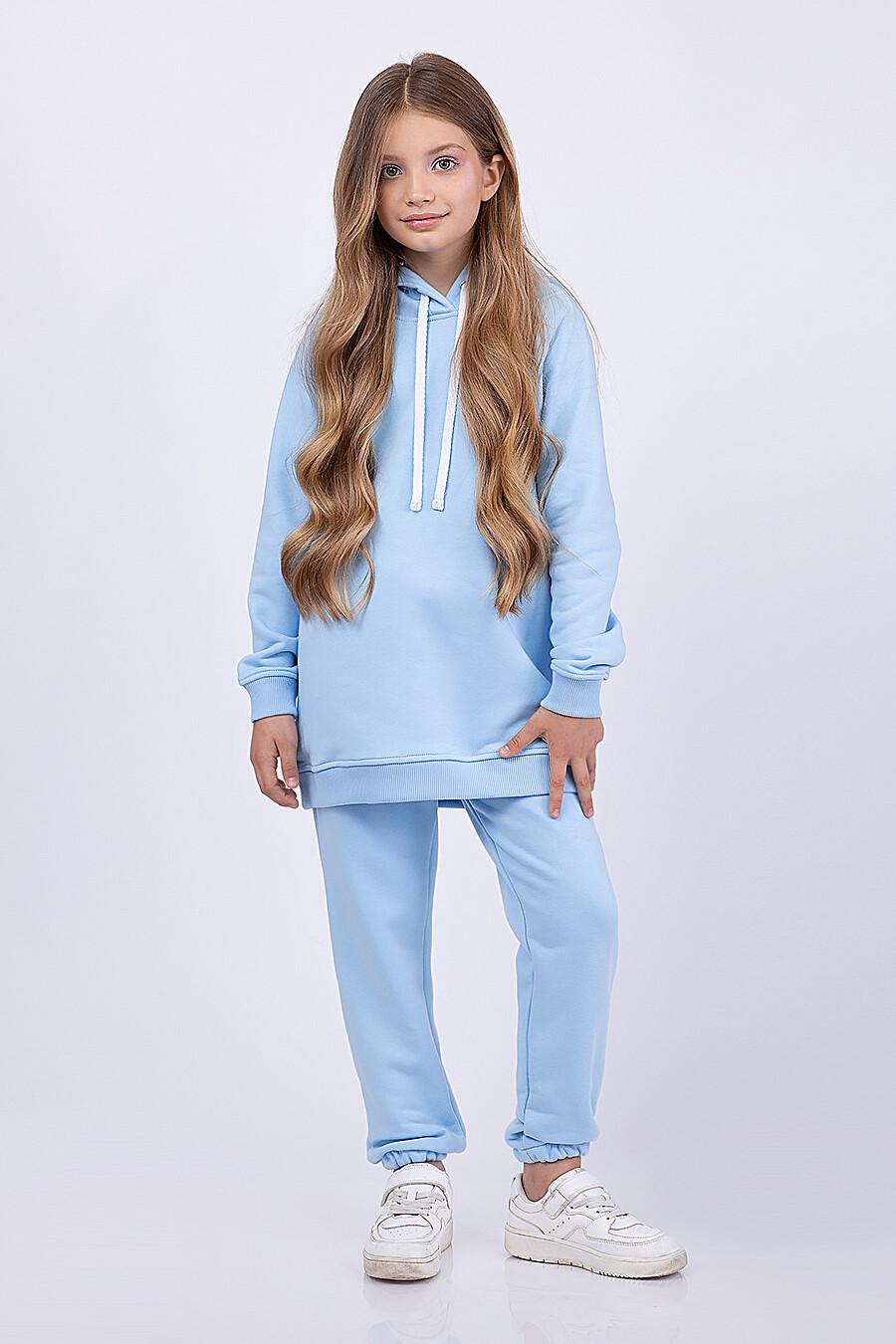 Брюки для девочек EZANNA 682681 купить оптом от производителя. Совместная покупка детской одежды в OptMoyo
