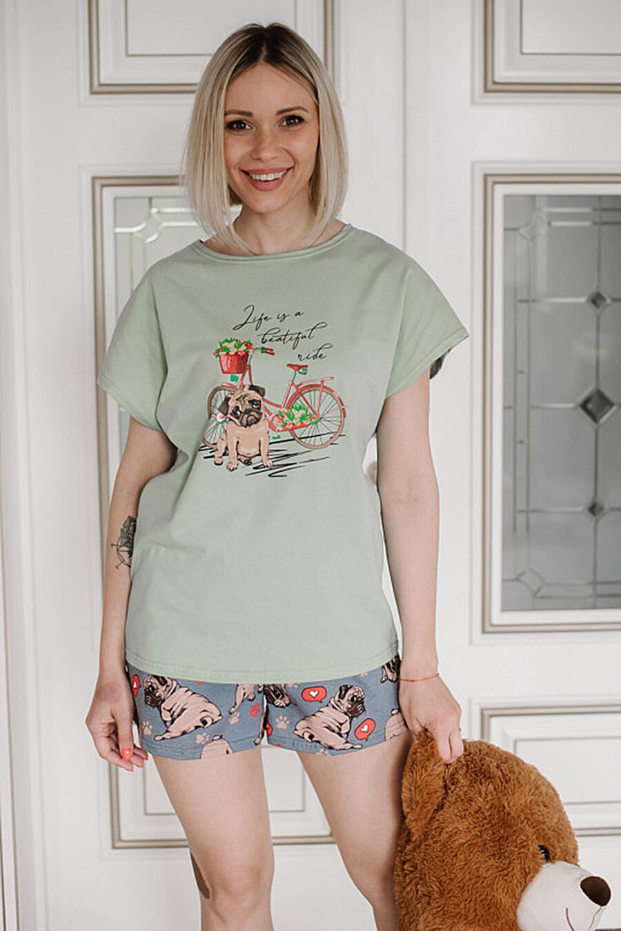 Пижама для женщин ALTEX 682690 купить оптом от производителя. Совместная покупка женской одежды в OptMoyo