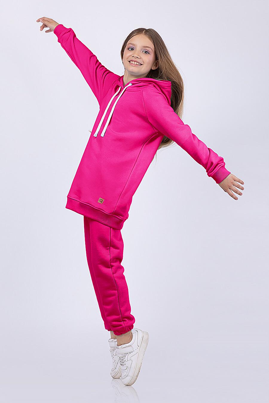 Костюм(Худи+Брюки) для девочек EZANNA 682723 купить оптом от производителя. Совместная покупка детской одежды в OptMoyo
