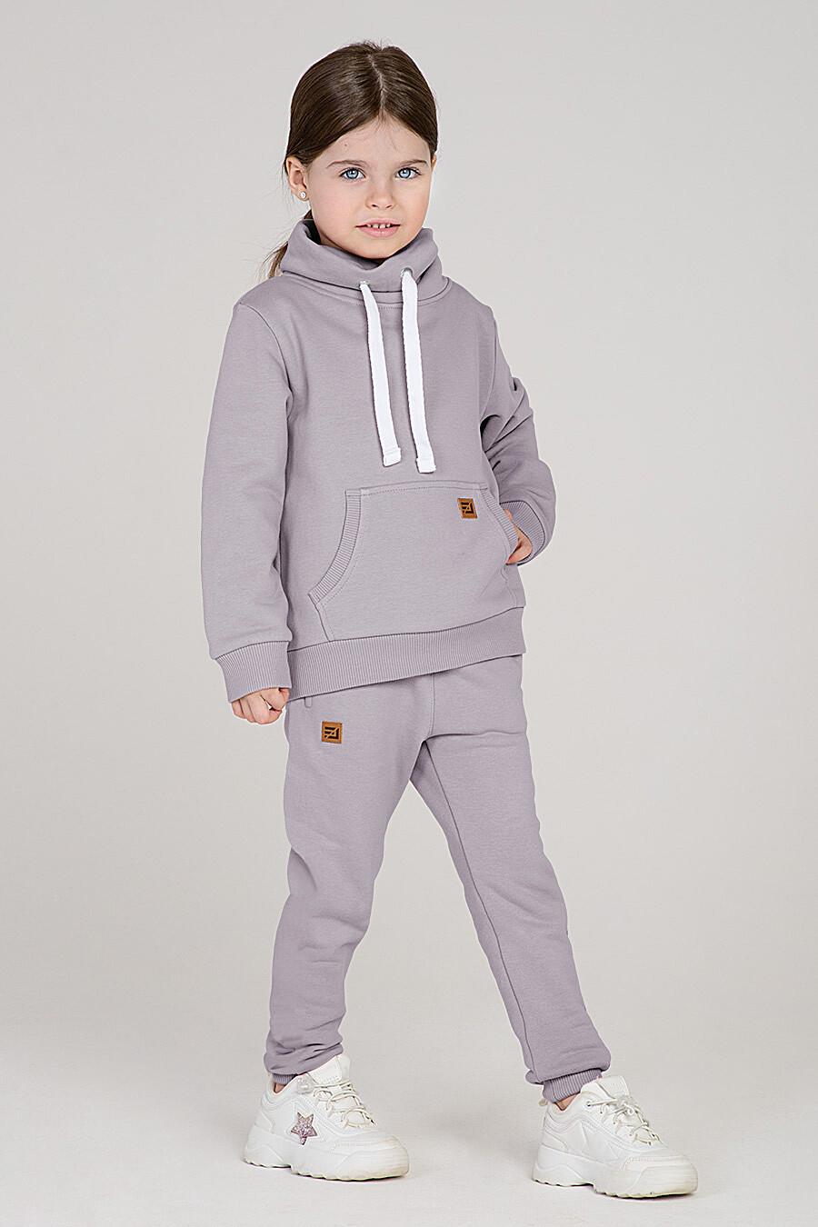 Худи для девочек EZANNA 699955 купить оптом от производителя. Совместная покупка детской одежды в OptMoyo