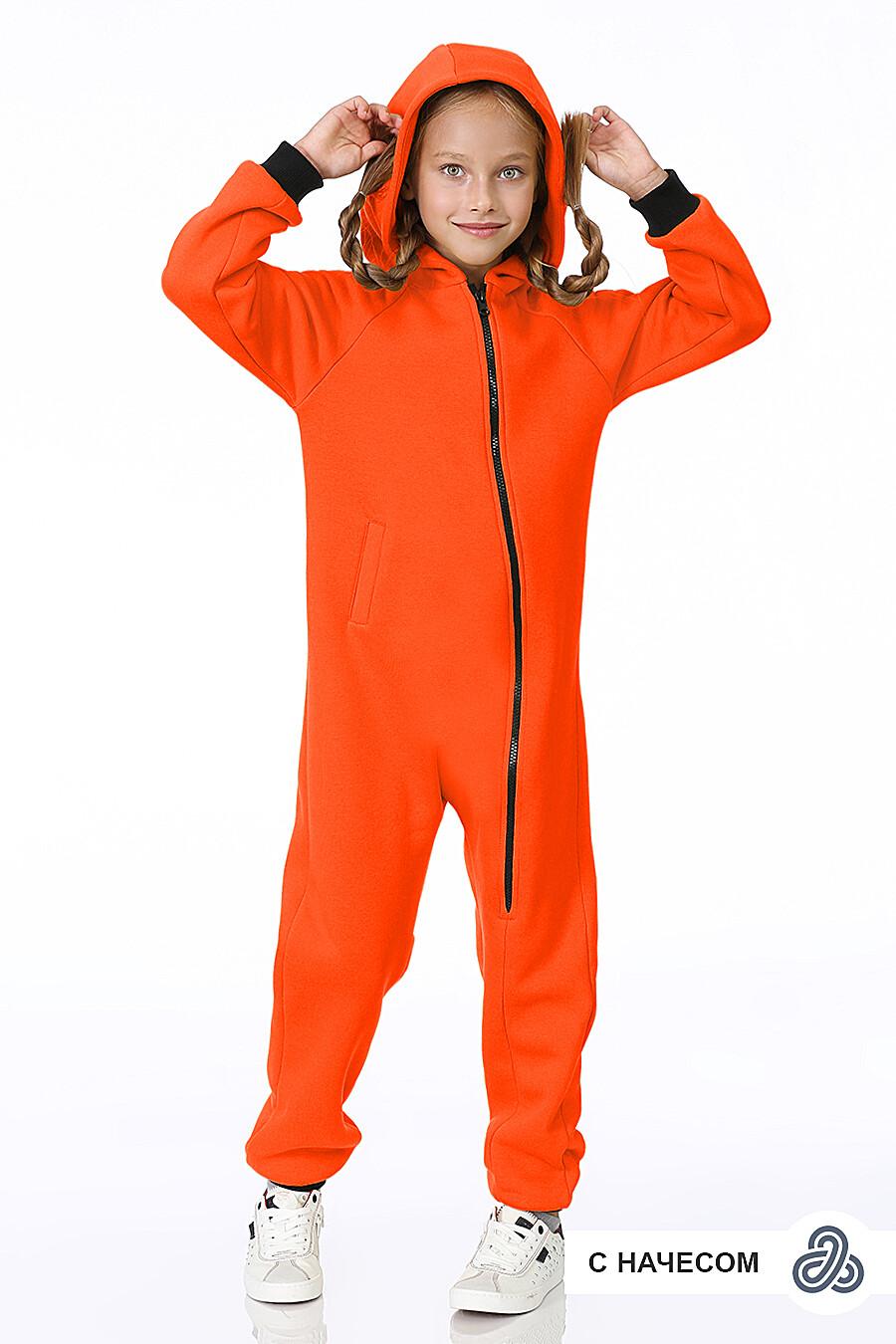 Комбинезон для девочек EZANNA 700015 купить оптом от производителя. Совместная покупка детской одежды в OptMoyo