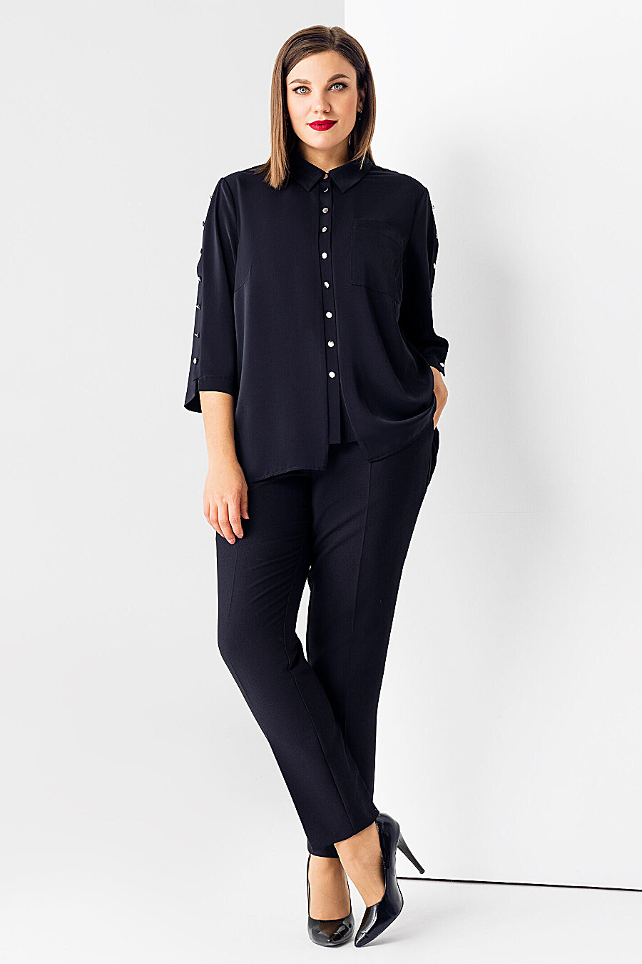 Блуза для женщин PANDA 700507 купить оптом от производителя. Совместная покупка женской одежды в OptMoyo