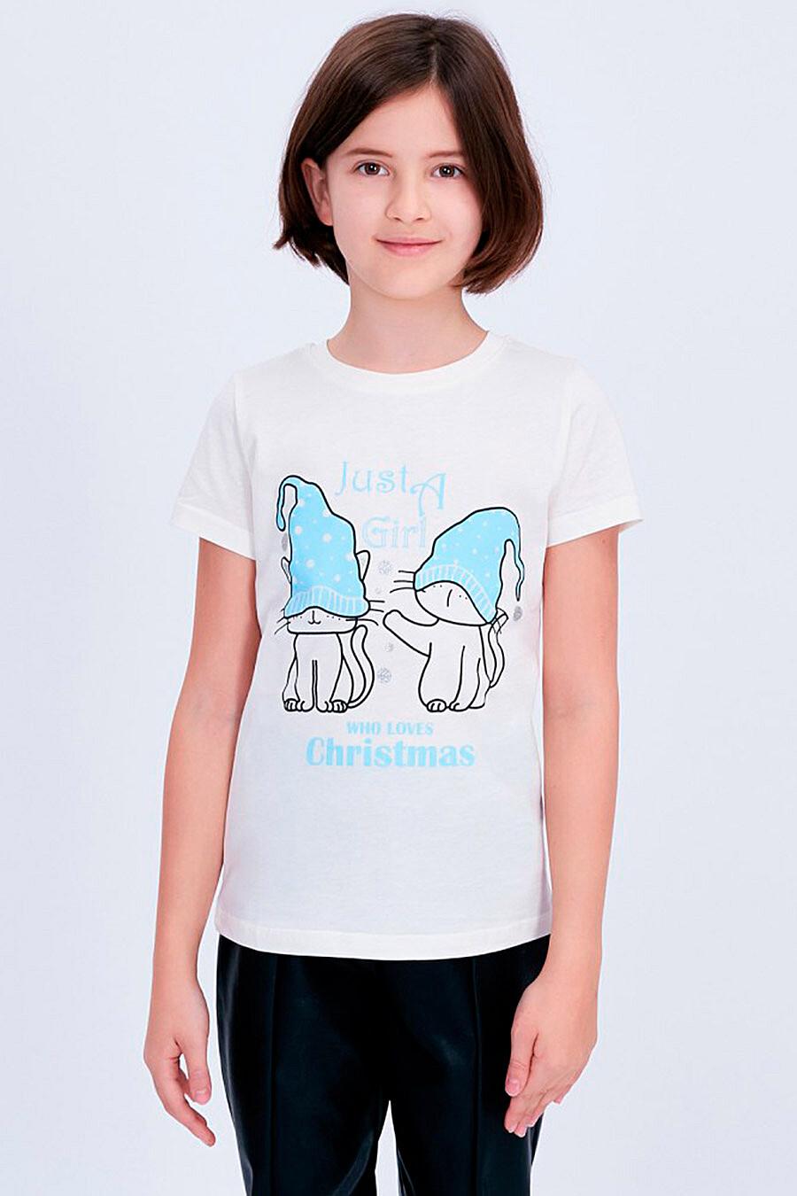 Футболка для девочек ROXY FOXY 707350 купить оптом от производителя. Совместная покупка детской одежды в OptMoyo