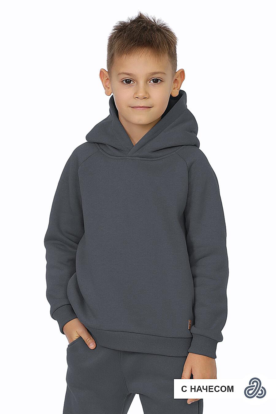 Худи для мальчиков EZANNA 707584 купить оптом от производителя. Совместная покупка детской одежды в OptMoyo