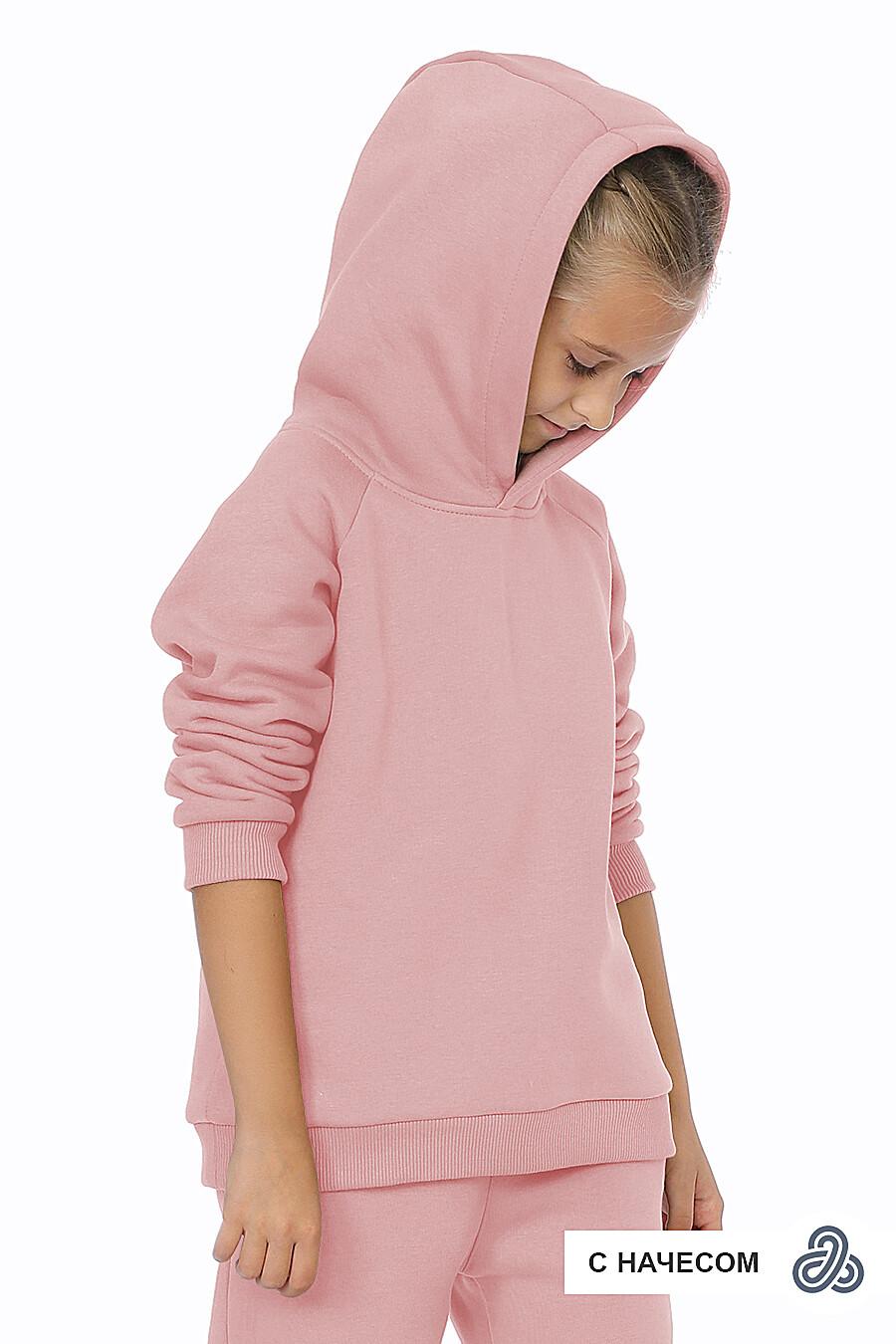 Худи для девочек EZANNA 707587 купить оптом от производителя. Совместная покупка детской одежды в OptMoyo