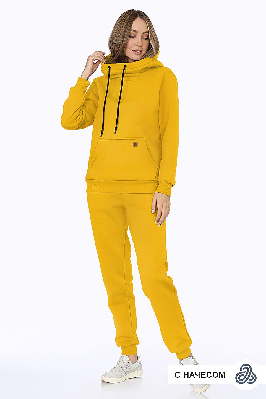 Костюм (Брюки+Худи) для женщин EZANNA 707986 купить оптом от производителя. Совместная покупка женской одежды в OptMoyo