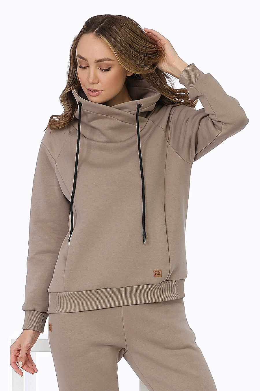 Худи для женщин EZANNA 708226 купить оптом от производителя. Совместная покупка женской одежды в OptMoyo