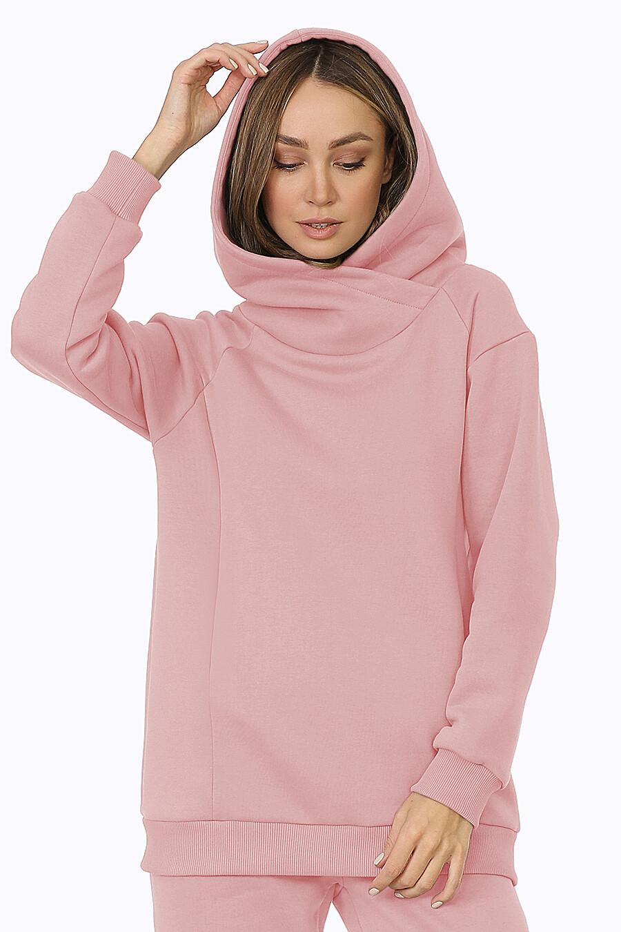 Худи для женщин EZANNA 708517 купить оптом от производителя. Совместная покупка женской одежды в OptMoyo