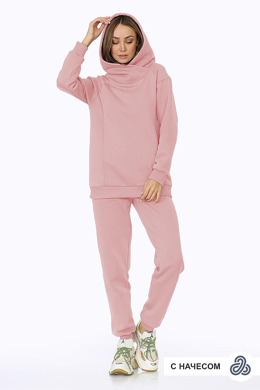 Костюм (Брюки+Худи) для женщин EZANNA 708523 купить оптом от производителя. Совместная покупка женской одежды в OptMoyo