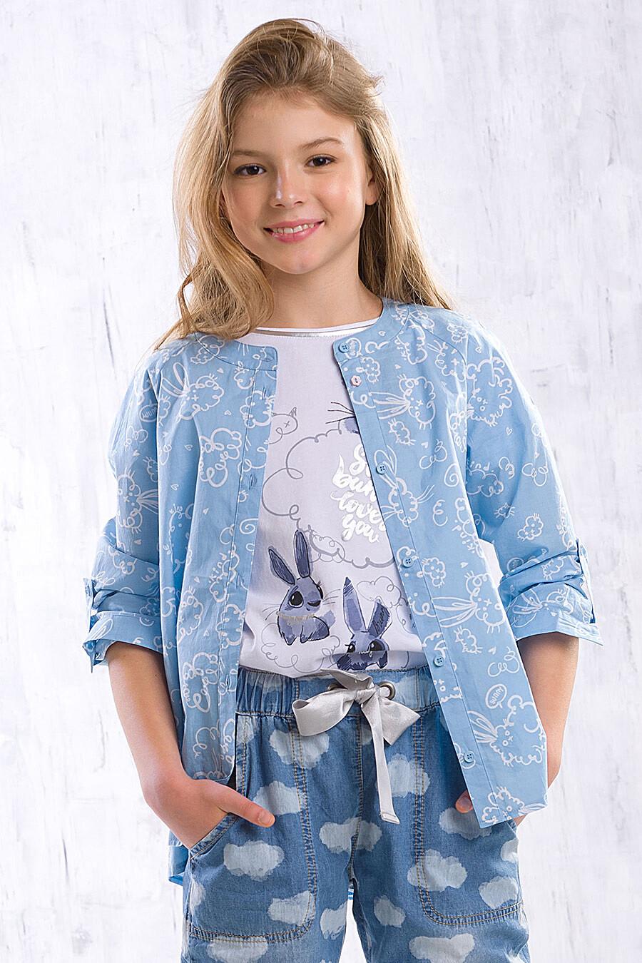 Блузка для девочек PELICAN 91642 купить оптом от производителя. Совместная покупка детской одежды в OptMoyo
